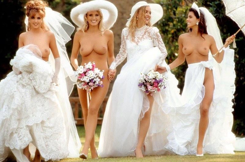 фото красивая эротика невест