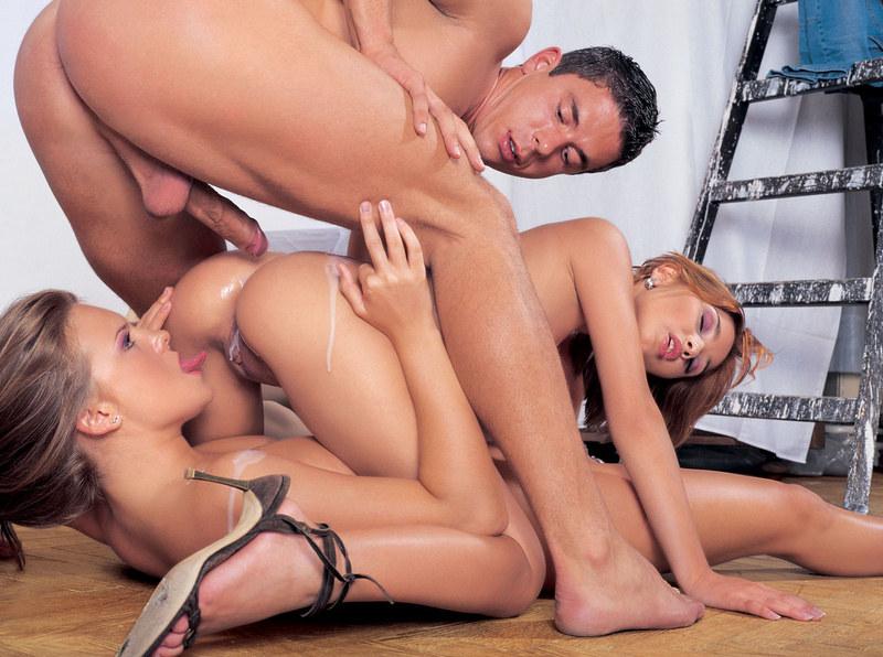 Секс в трайом фотм