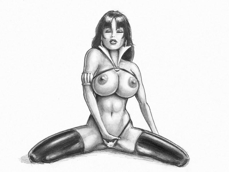 карандашом груди рисунки обнаженной
