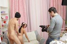 Как проходят порно съемки