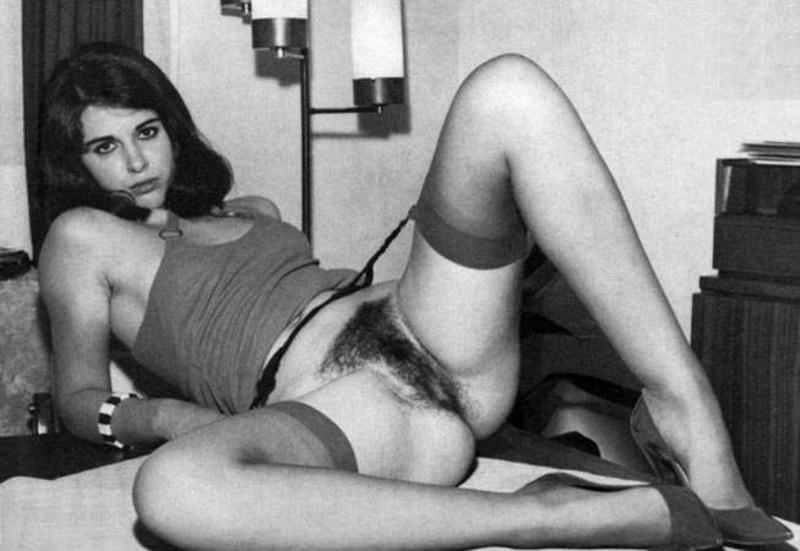 Фото ретро порно волосатые телки