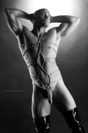 Порно связывание веревкой