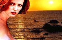 Межрасовый секс с Джиллиан Андерсон