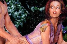 Смешное порно с Джиллиан Андерсон