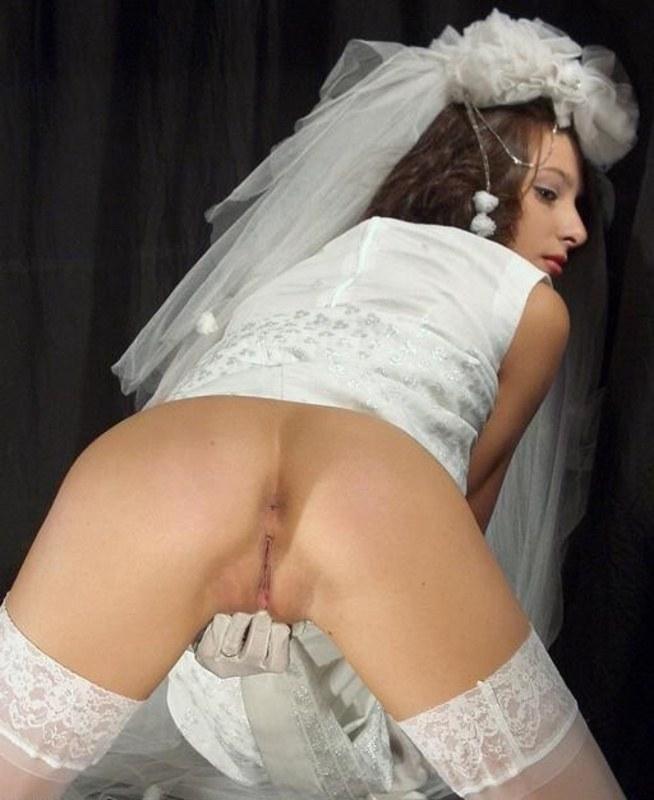 Порно русское невеста премерка платья