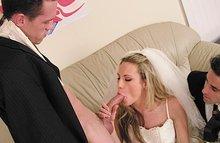 XXX фото невест сосущих член и ебущихся прямо в загсе