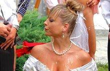 Невесту обоссали на свадьбе