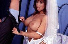 Фото подборка секса в свадебных платьях