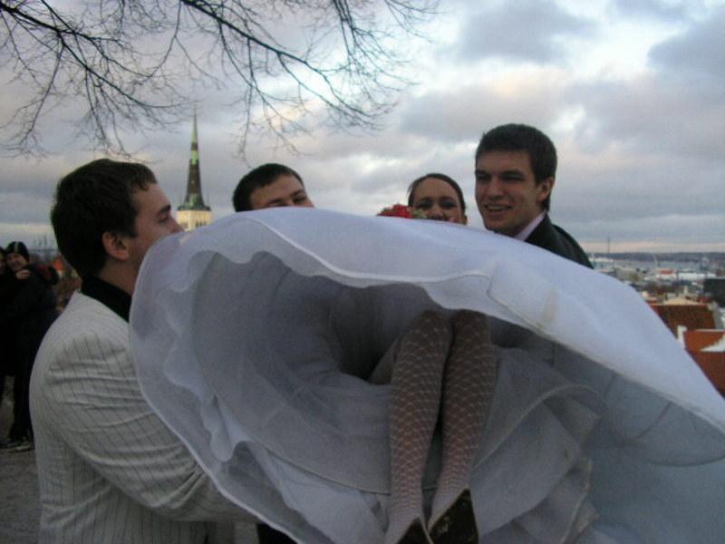 Голые писи невест действительно