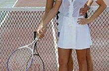 Теннисист трахает свою пассию