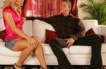 Сексуальная куртизанка трахается с бойфрендом