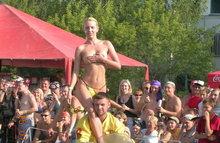 Эротический фестиваль с голыми девушками