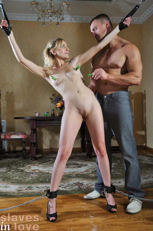 Naked submissive
