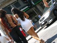 Частные эротические уличные фотографии