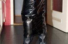 Униформа из латекса и кожи