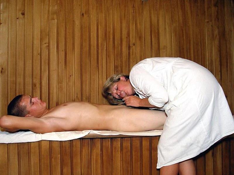 порно массаж в сауне