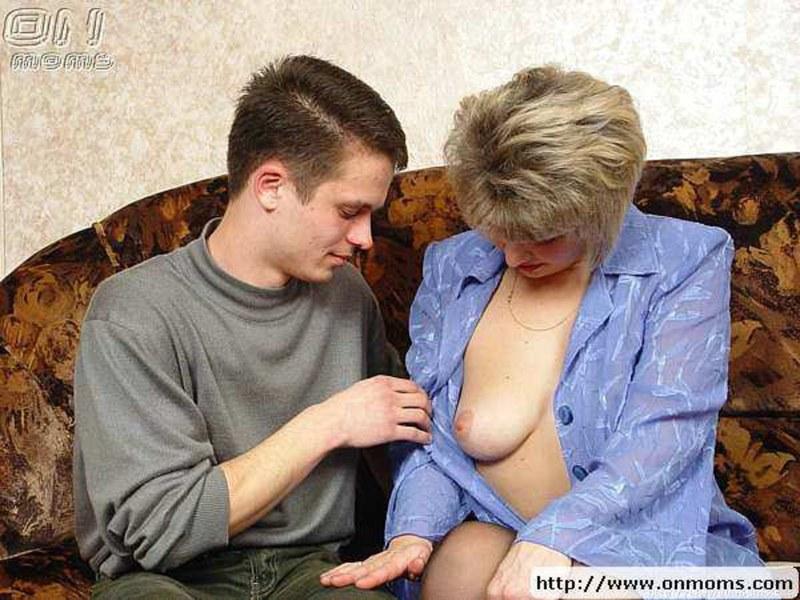 Половой акт со зрелой дамой #3