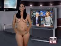 Новости со стриптизом в прямом эфире