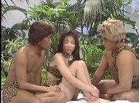 Групповой секс в древнем азиатском племени