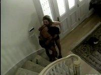 Куннилингус, дрочка и все это на лестнице
