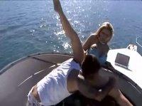 Плавают на шикарной яхте и трахаются в Бразилии