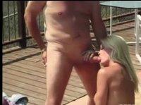 Дама шикарно трахается с нехорошеньким мужиком