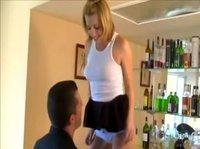 Хороший секс в пределах гостиной