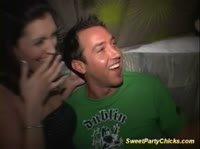 После пива секс втроём на вечеринке