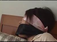 Азиатка в крепком бондаже и пытках