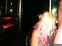 Девушки отправляются в ночной клуб