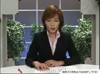 Кончают на лицо японской телеведущей