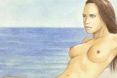 Очаровательные эротические картинки